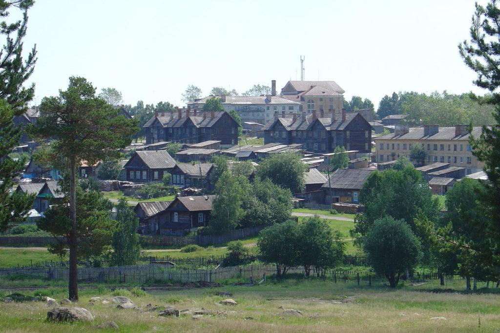 The village of Levikha
