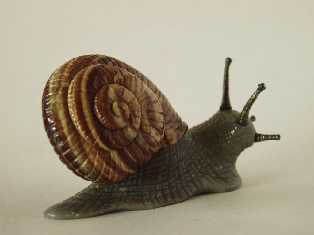 Stone work Snail by artist Dmitriy Emelyanenko