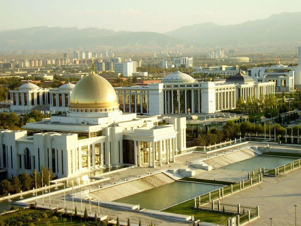 Ashgabat today