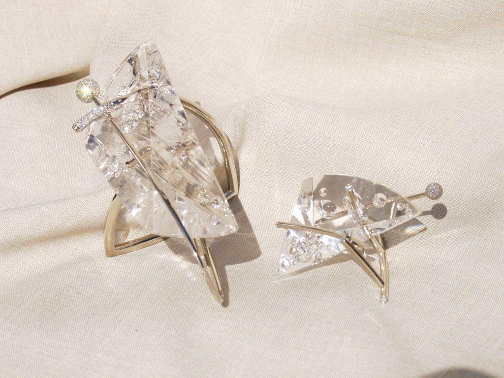Gemstone cutting work Bubbles by gemcutter Dmitriy Emelyanenko