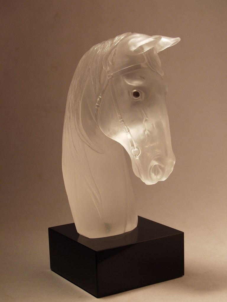Hardstone carving work Horse head by Dmitriy Emelyanenko
