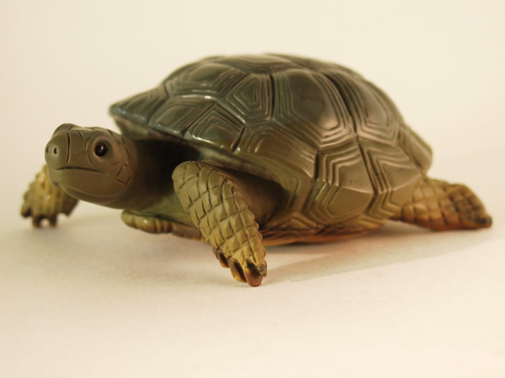 Stone artwork Turtle by stone carver Dmitriy Emelyanenko