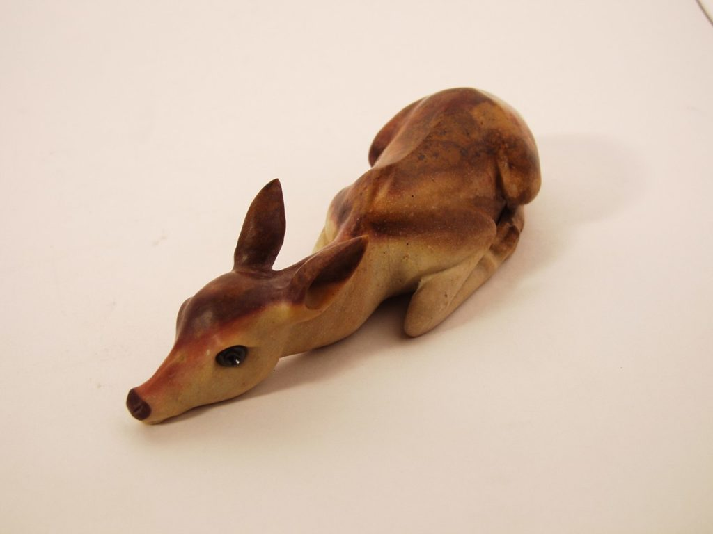 Stone carving work Fawn by Dmitriy Emelyanenko