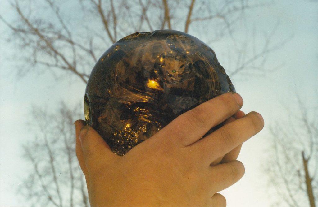 Stone carving work Meteor by Dmitriy Emelyanenko