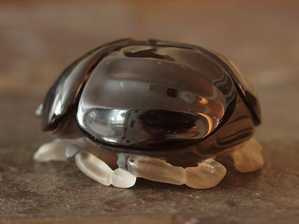 Stone carving work Scarab beetle by Dmitriy Emelyanenko