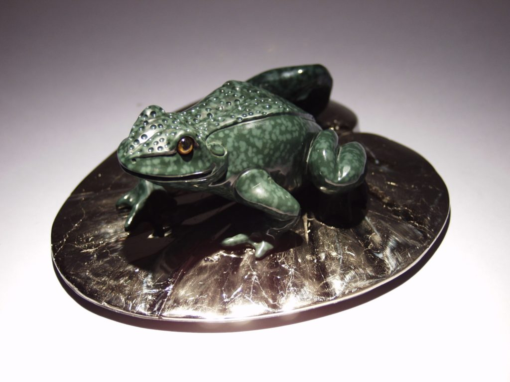 Stone work Frog by Dmitriy Emelyanenko