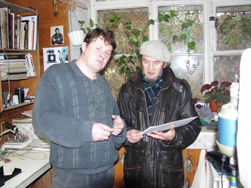 Д. Емельяненко и В. Ветлугин