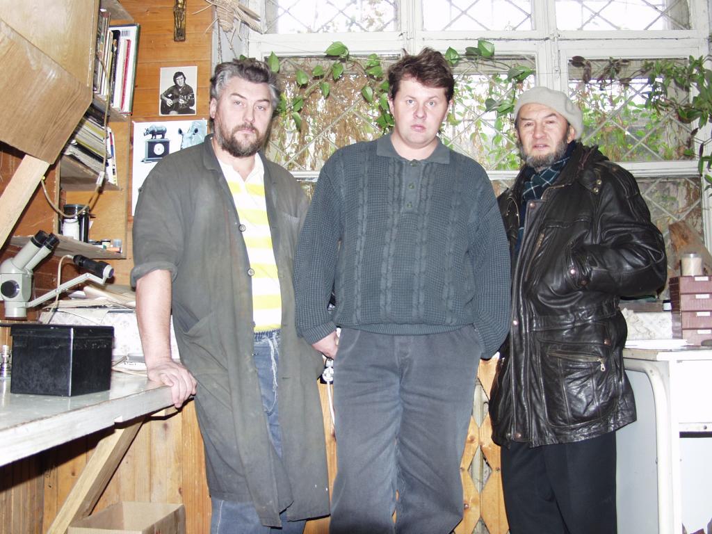 А. Жуков, Д. Емельяненко и В. Ветлугин